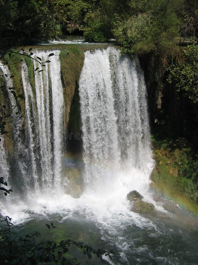 Duden Waterfall in Turkey stock photos