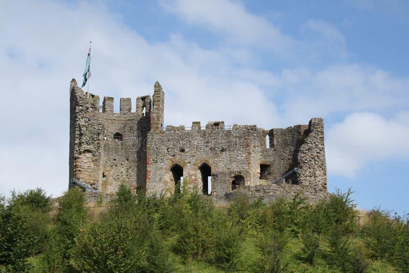 Dudley kasztel West Midlands Anglia fotografia royalty free