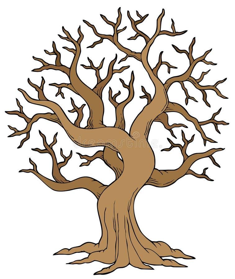 dudniący drzewo royalty ilustracja