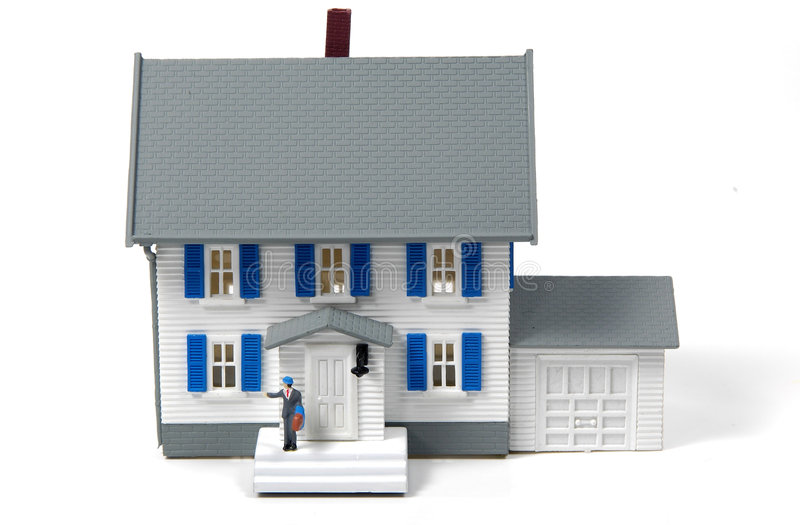 Dueño de una casa imagen de archivo libre de regalías