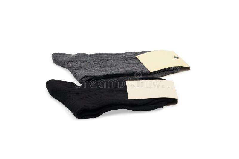Due accoppiamenti dei calzini fotografia stock libera da diritti