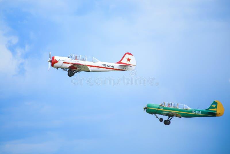 Due aerei di sport fotografia stock libera da diritti