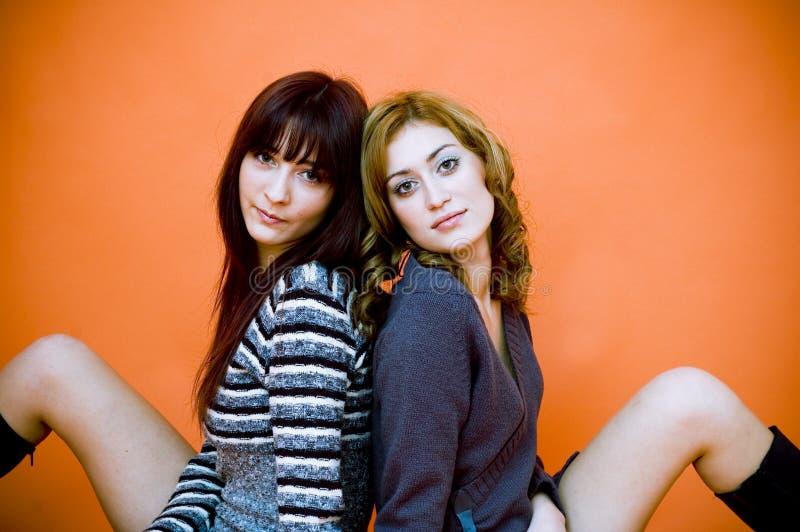 Due amici.   fotografie stock libere da diritti