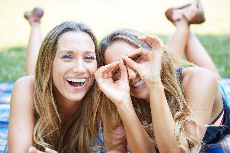 Download Due amici femminili fotografia stock. Immagine di gemelli - 56883952