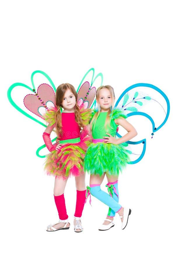Due belle bambine immagini stock