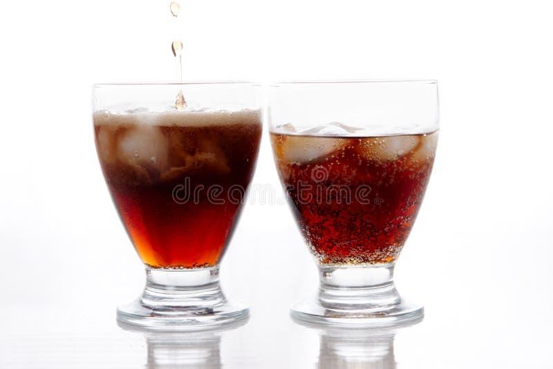 Due bevande fotografia stock