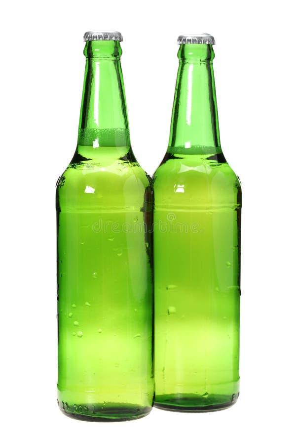 Due birre fotografia stock libera da diritti