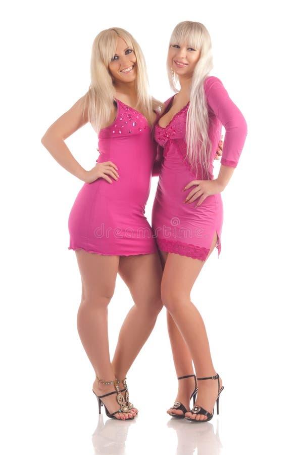 Due blondes di fascino fotografia stock libera da diritti