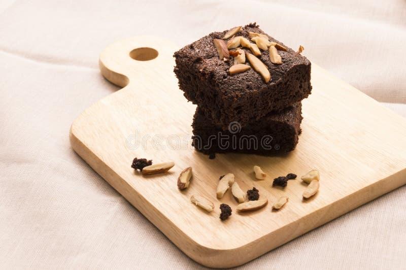 Due brownie fotografia stock