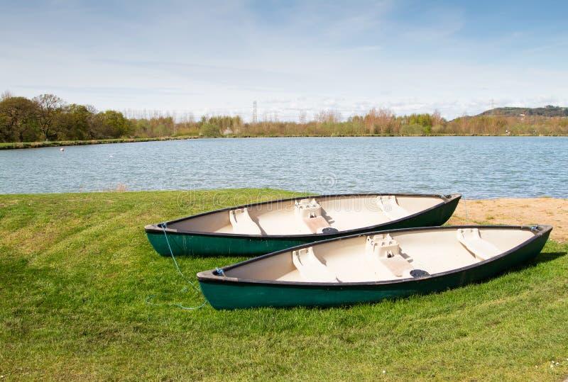 Due canoe fotografia stock libera da diritti