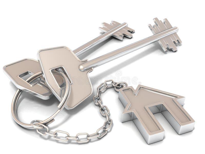Due chiavi della porta della casa e chiave catene della for Catene arredamento casa