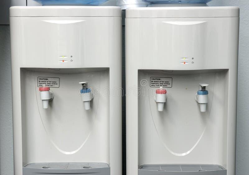 Due dispositivi di raffreddamento di acqua. fotografia stock