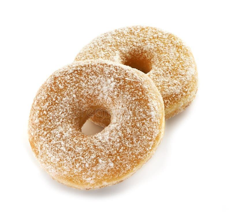 Due freschi e guarnizioni di gomma piuma saporite dello zucchero fotografia stock