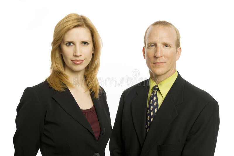 Due genti di affari fotografia stock libera da diritti