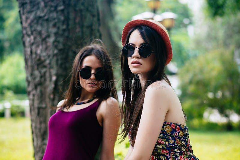 Due giovani bei fotografia stock libera da diritti