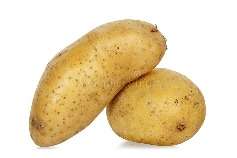 Due patate fotografie stock