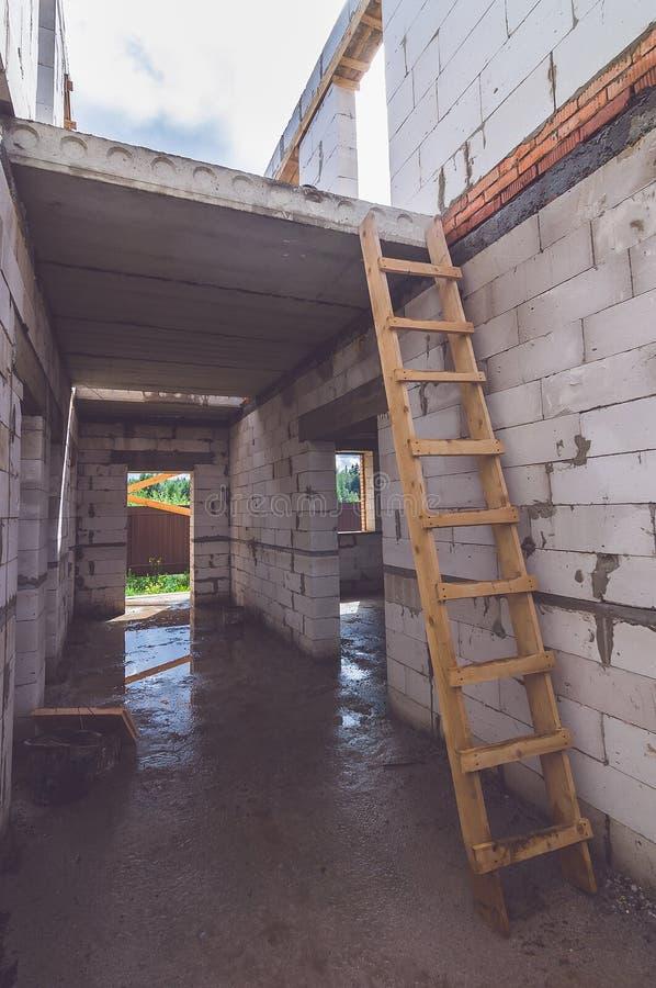 Due pavimenti di nuova casa fotografia stock