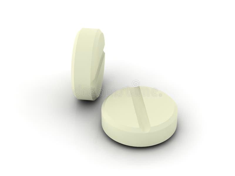 Due pillole fotografia stock
