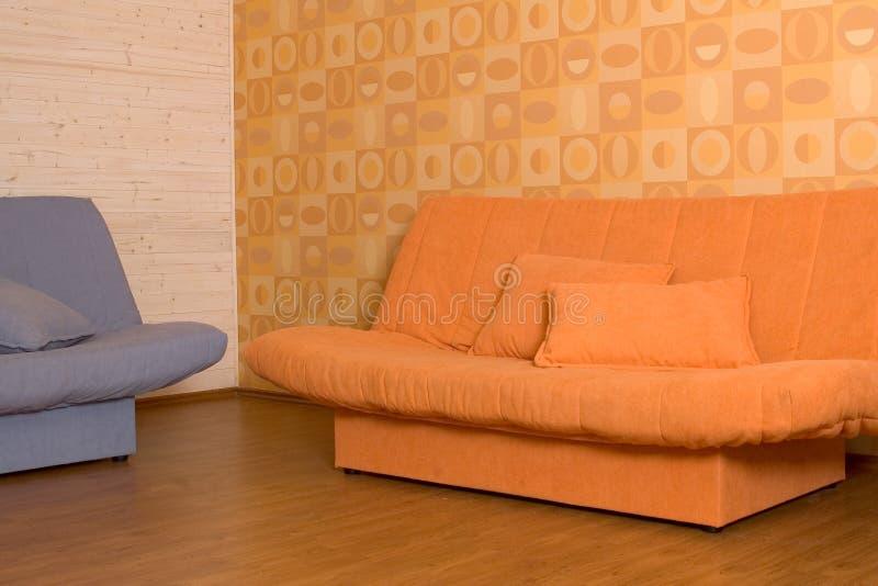 Due Sofà Immagini Stock