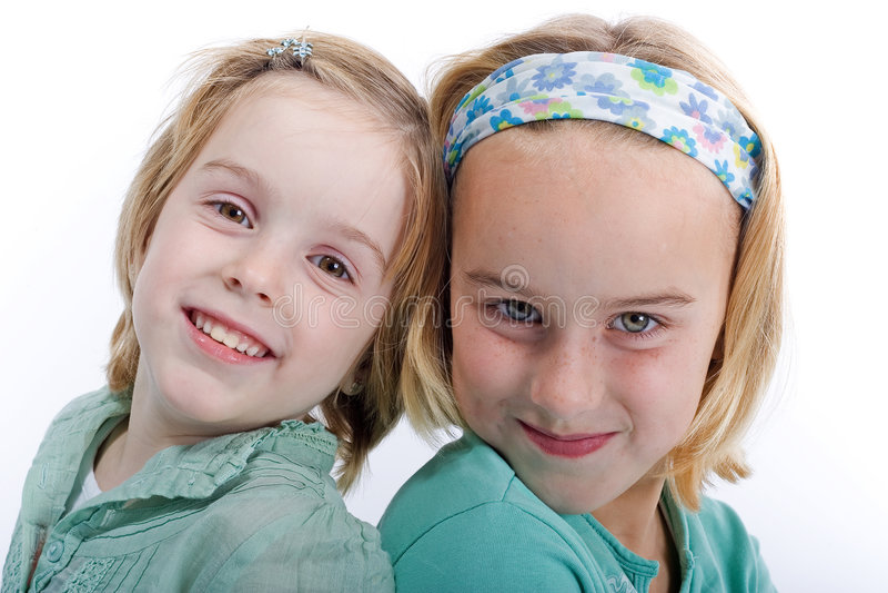 Due sorelle fotografie stock