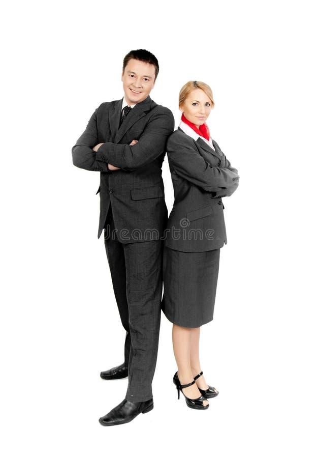 Due sorveglianti di volo fotografie stock