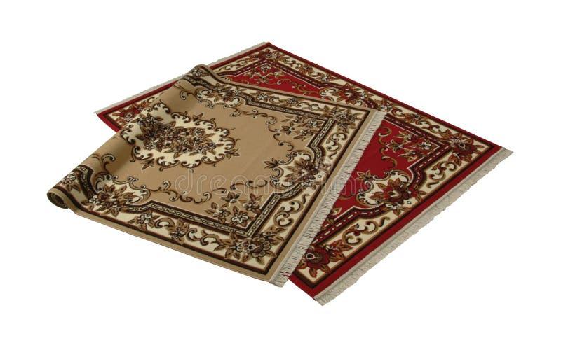 Due tappeti persiani immagini stock libere da diritti