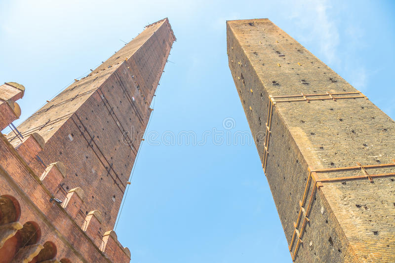 Download Due Torri Bologna Stock Photo - Image: 83711166