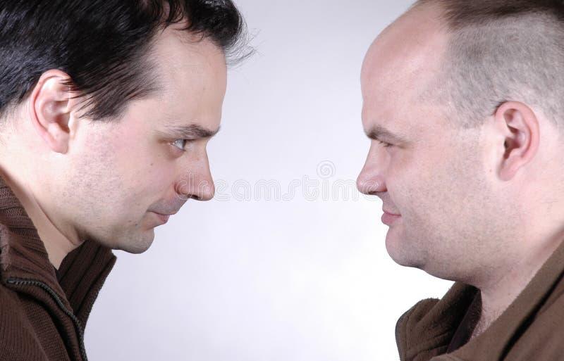 Due uomini fotografie stock libere da diritti