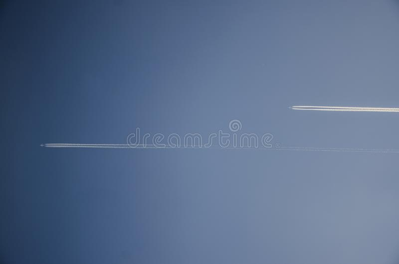 Due velivoli immagine stock libera da diritti