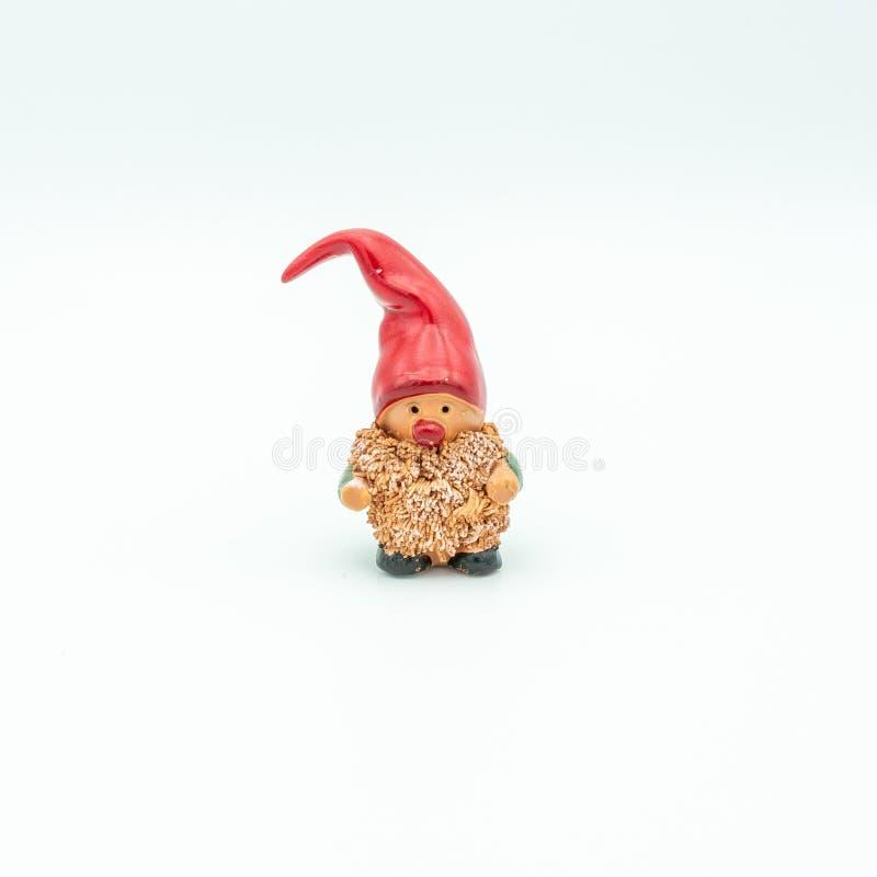 Duendes de la Navidad o gnomos de la Navidad imagenes de archivo