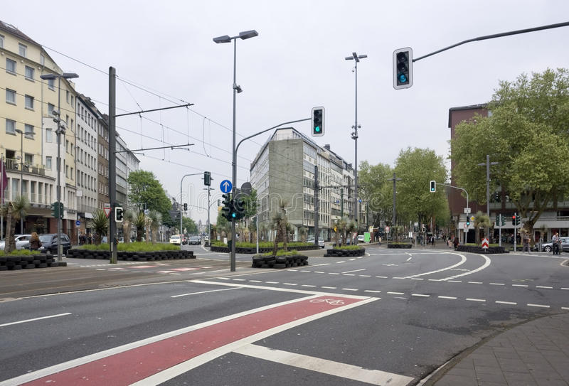 Duesseldorf zdjęcie royalty free