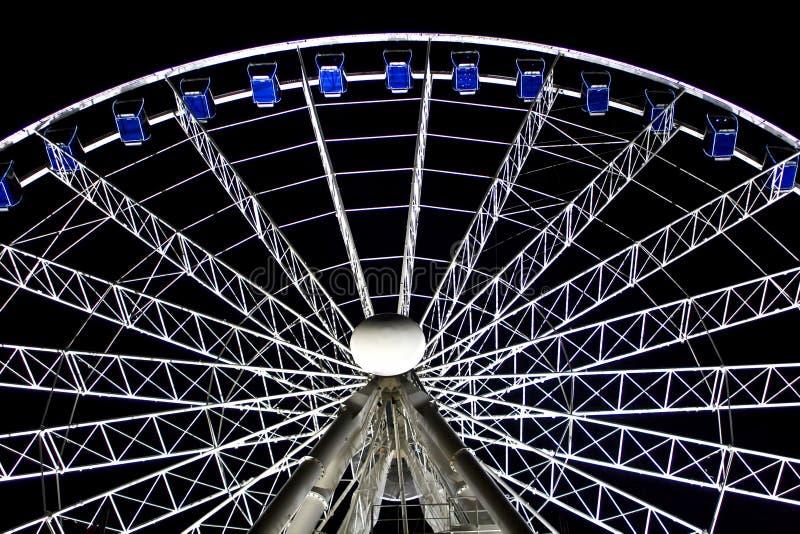 Duesseldorf Ferris Wheel royalty free stock photos