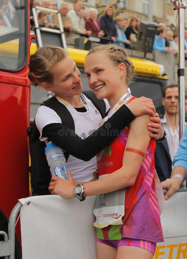 Download Duesseldorf Marathon editorial image. Image of road, metro - 24548355