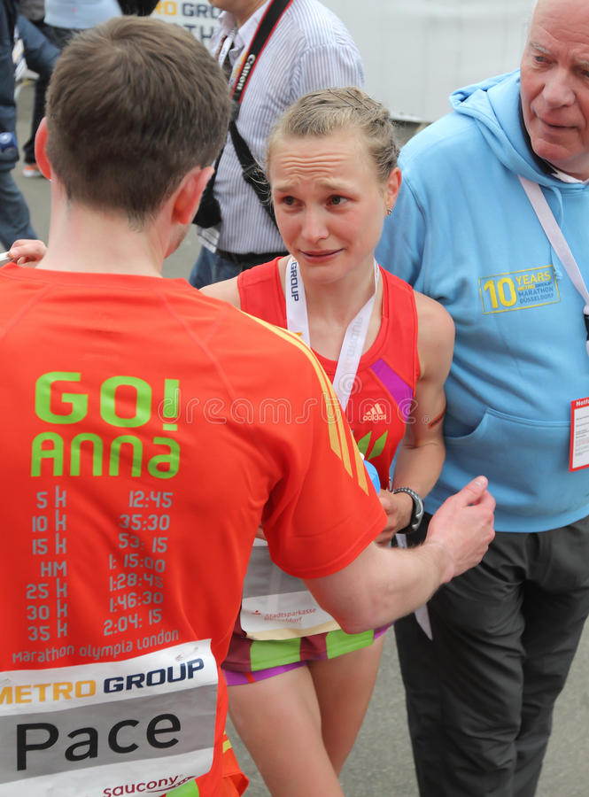 Duesseldorf Marathon Editorial Photography