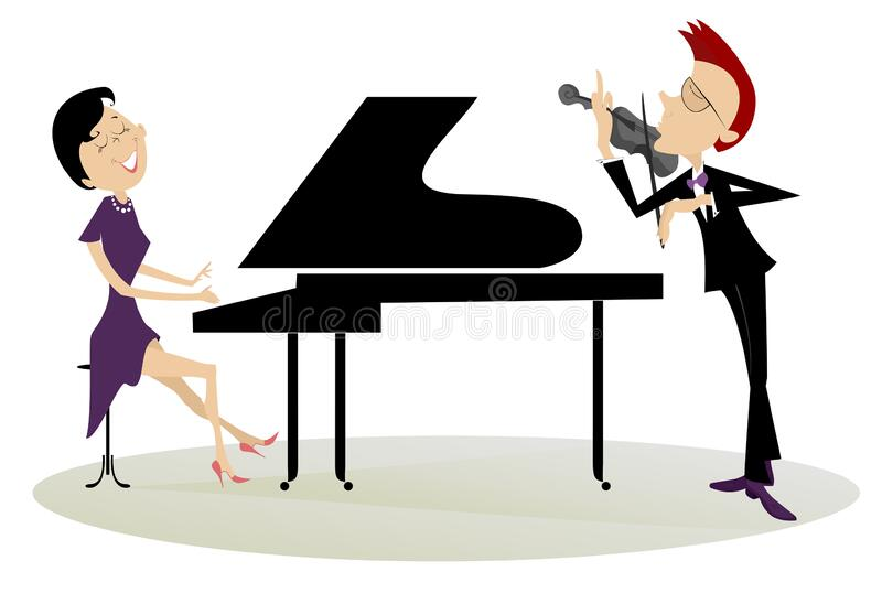 Man Playing Piano With Passion Royalty Free Cliparts, Vectors, And Stock  Illustration. Image 34392409.