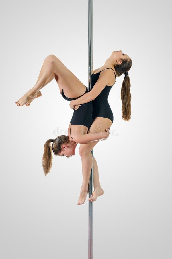 Dueto da dança de Polo imagens de stock royalty free
