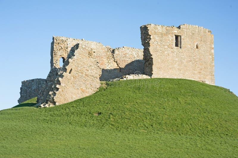 Duffus Schloss stockbild