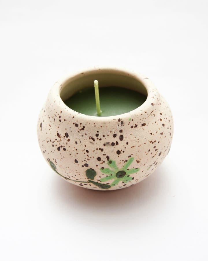 Duftendes candles.spa lizenzfreies stockfoto