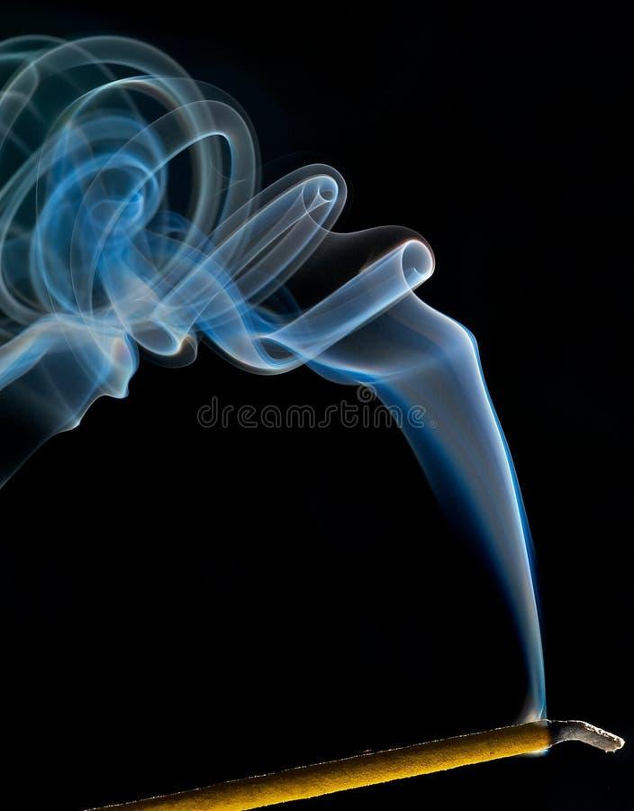Duftrauchspuren stockbilder