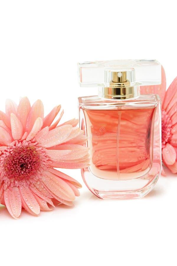 Download Duftstoffflasche stockbild. Bild von aromatherapy, blume - 26352295