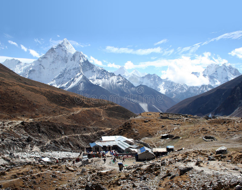 Dughla, Nepal royalty free stock images