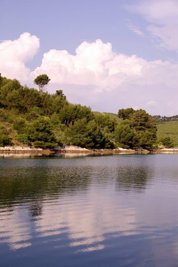 Dugi Otok in Kroatië stock fotografie