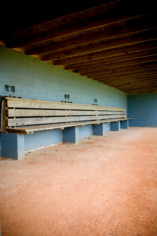 Free Dugout Empty Royalty Free Stock Images - 5376239