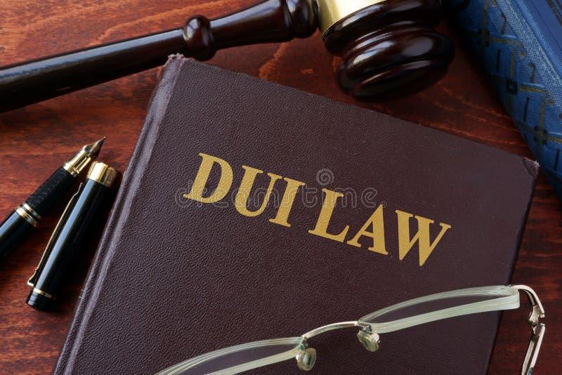 DUI prawa tytuł zdjęcie stock