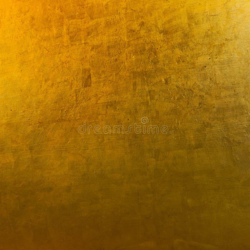 Duidelijk Helder Gouden Textuurbehang stock foto