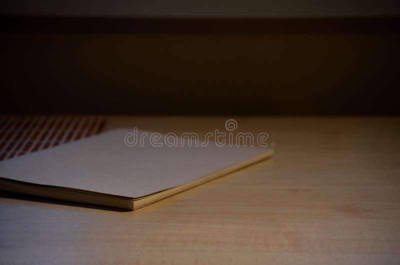 Duidelijk notitieboekje royalty-vrije stock foto