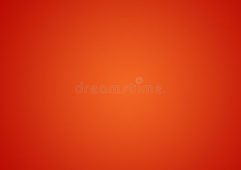 Duidelijk oranje gradiëntbehang als achtergrond vector illustratie