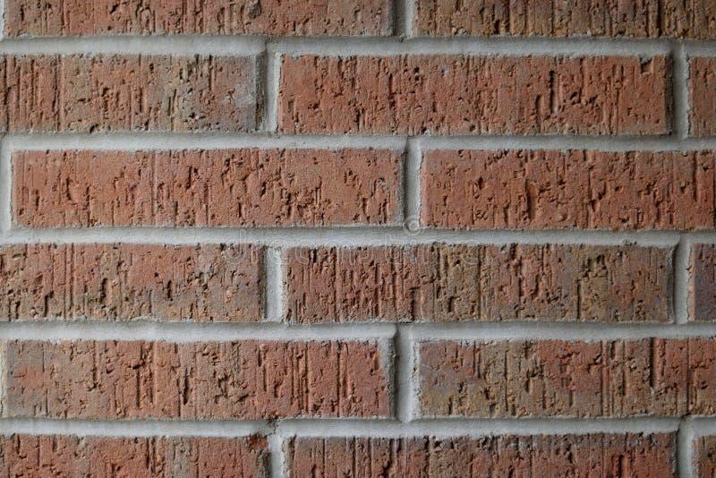 Duidelijke bakstenen muur royalty-vrije stock afbeelding