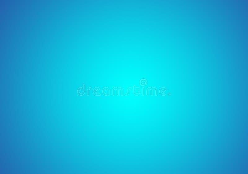 Duidelijke blauwe achtergrond met gradiënt royalty-vrije stock afbeelding