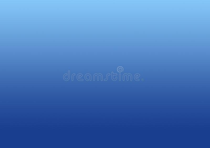 Duidelijke blauwe achtergrondgradiënthemel vector illustratie